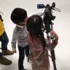 新・『小学一年生』モデル全員が朝の人気テレビ番組に出演! 撮影秘話