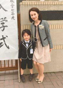 入学式ファッション楓ママ