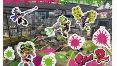 大人気ゲーム・スプラトゥーンが、ボリューム満点のシールブックになりました!