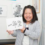 企業ロゴや商品デザインを手がける大人顔負け小学生デザイナー!(『小学一年生』4月号連動企画)