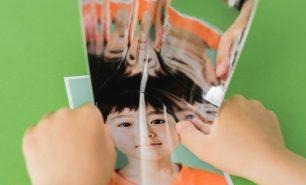 """""""鏡のような紙""""に映る、無限のかたち。  不思議で楽しい紙遊び「ぺぱぷんたす」"""