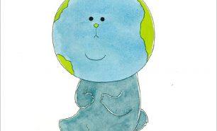 糸井重里×キューライスの絵本「ちきゅうちゃん。」の秘密を小学館キッズパークで大公開