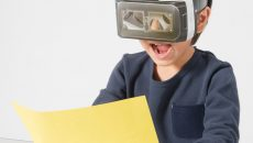 絵が飛び出す!?「ぺぱぷんたす」と『おはスタ』共同開発の12月号付録「VR(びっくり)おえかき」