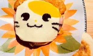 神田明神カフェのとっとこハムサンド、かわいすぎて食べられない?!お悩み解消!
